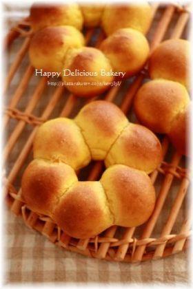 「ふわふわかぼちゃパン♪」あいりおー | お菓子・パンのレシピや作り方【corecle*コレクル】