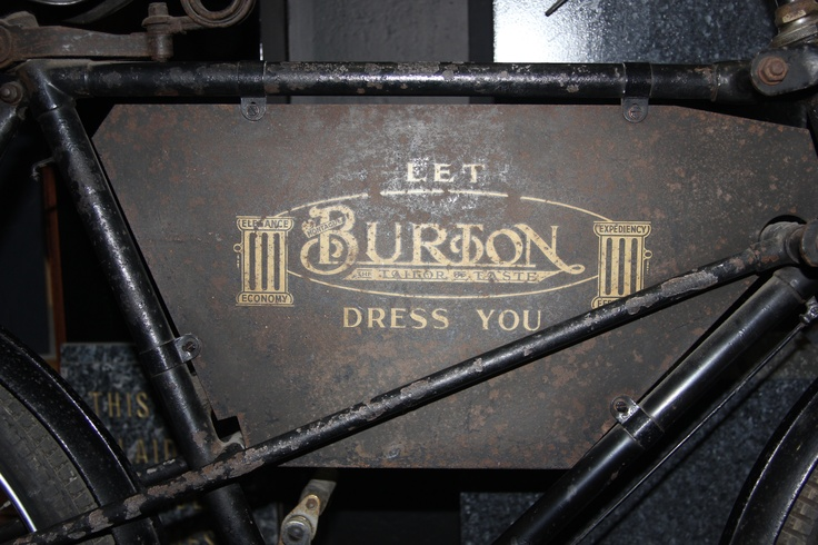 Burton menswear.