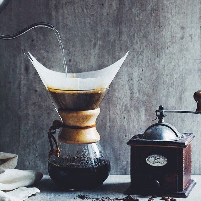 The procedure to make coffee this way is already pleasure <3
