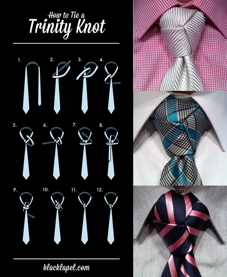 I think this tie knot is awesome, more men should know how to tie it.