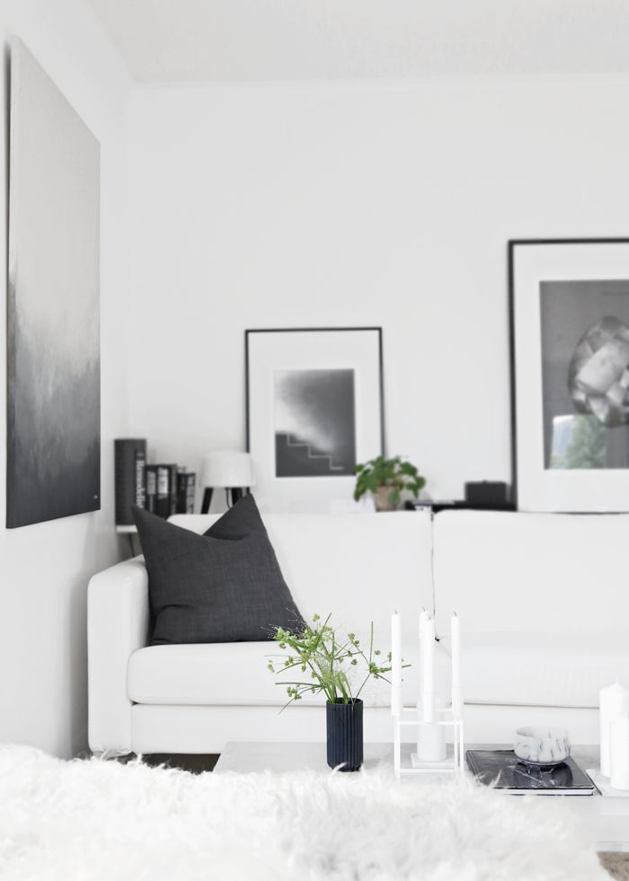 White living room, stylizimo home