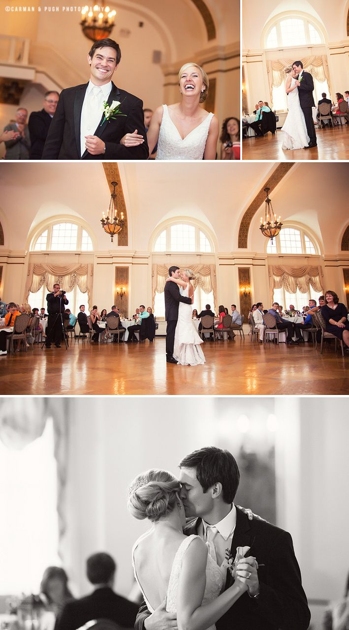 Wedding Reception First Dance At Greystone Hall In Akron Ohio Images By Www Carmanandpugh
