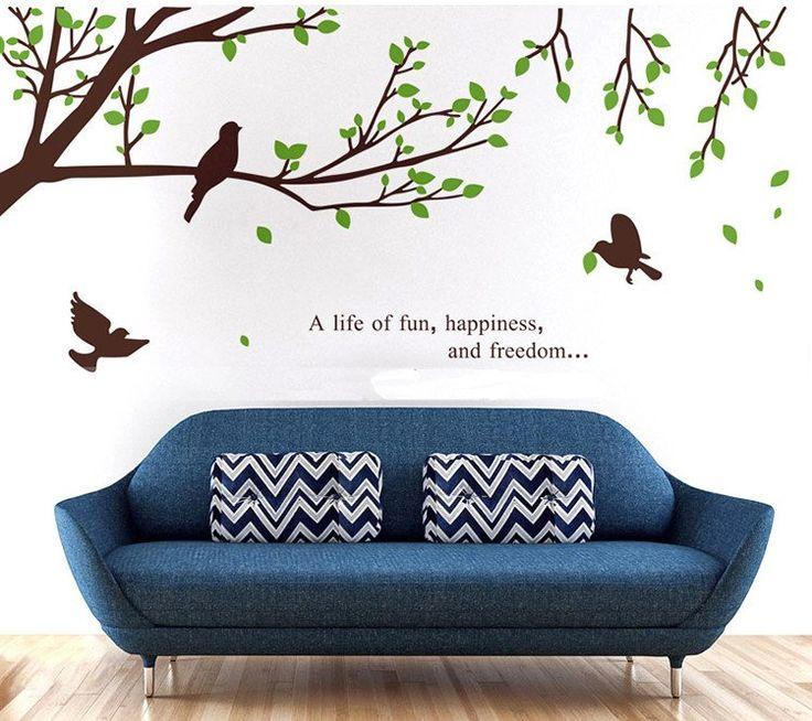 Branch Bird Wall Decal
