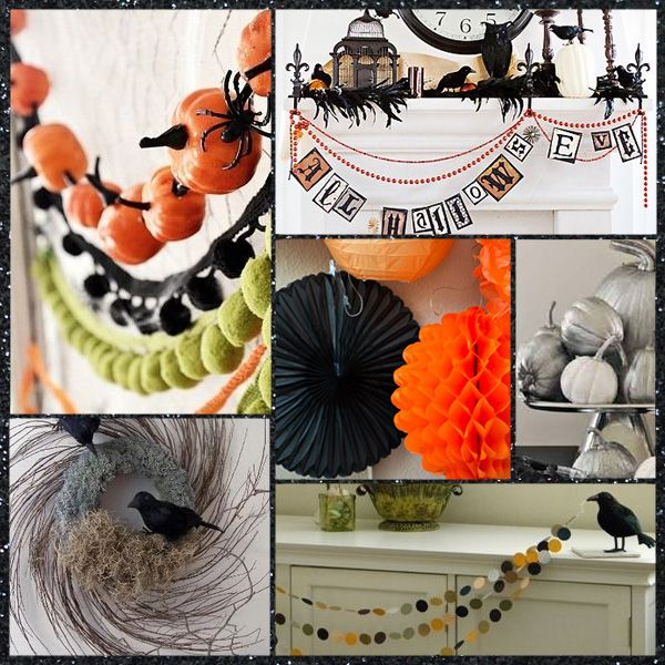 ideas fiesta Halloween elegante