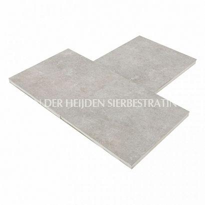 Duostone 60x60x4 cm Uni Hormigon Grey