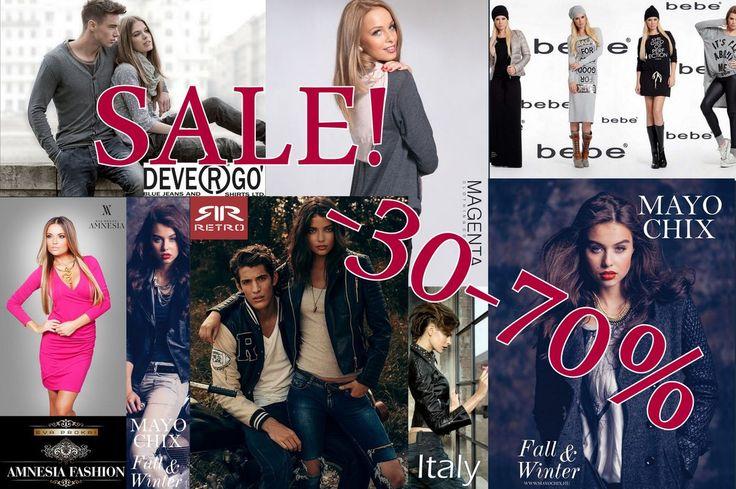 A legjobb márkák termékeit most akár 70%-os kedvezménnyel megvásárolhatja! Találja meg választékunkban az Önnek megfelelő ruhadarabot!  http://www.avantgardfashion.hu/