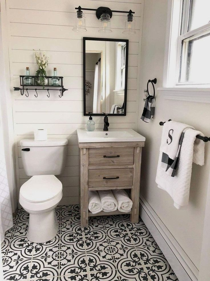 To Take You Back To A Simpler Time Discover Some Inspiring Ways To Produce A Charming Farmhou Small Farmhouse Bathroom Bathroom Farmhouse Style Small Bathroom