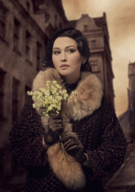 """""""She was carrying yellow flowers! A bad color. She turned off Tverskaya into a side street and then looked back. Do you know Tverskaya? Thousands of people were walking along Tverskaya, but I assure you, she only saw me and she gave me a look that was not merely anxious, but even pained. And I was struck not so much by her beauty as by the extraordinary, incomparable loneliness of her eyes."""" The Master and Margarita: """"Enter the Hero"""""""