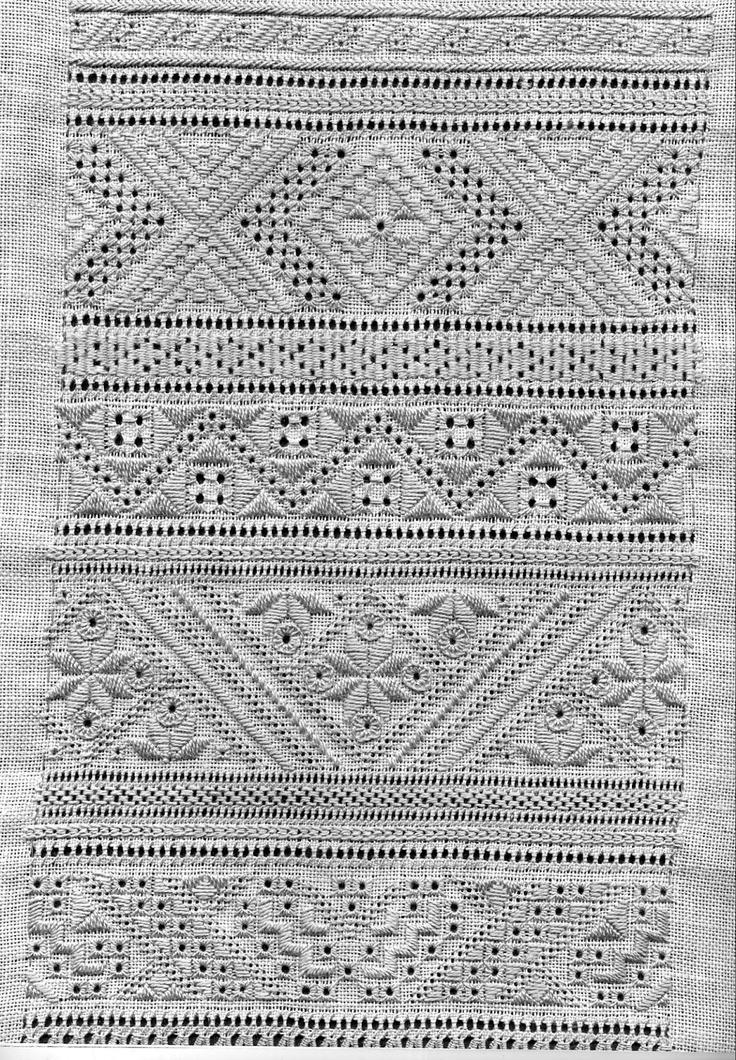 Great whitework sampler! Whitework embroidery of Sniatyn district, Pokuttia region, Ukraine