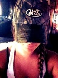 Want this camo Luke Bryan hat so badly.