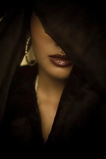 Veil of sensuality.