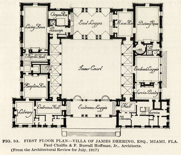 161 best florida vintage images on pinterest city for Miami house plans