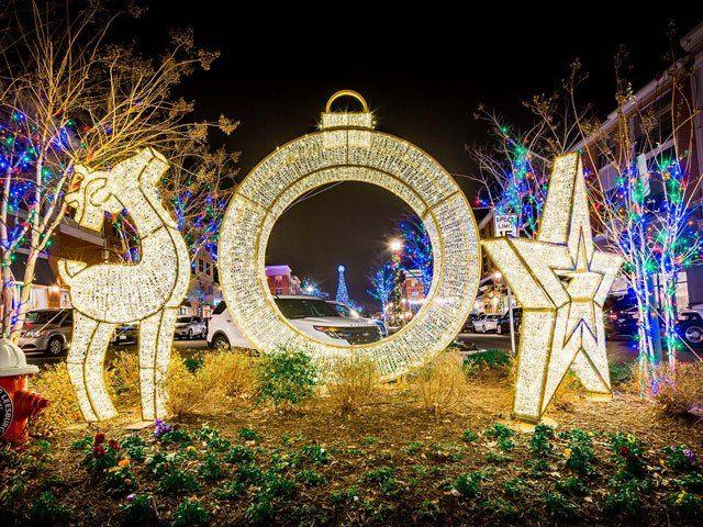 Outside Christmas Decorations Led Light