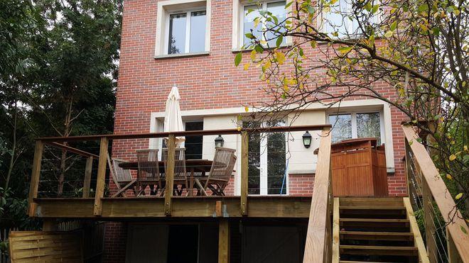 Terrasse Sur Pilotis Terrasse Sur Pilotis Permis De Construire Maison Style