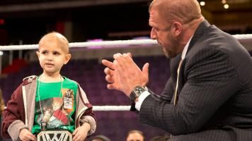 """WWE Chief Brand Officer Stephanie McMahon and WWE Executive Vice President of Talent, Creative and Live Events, Paul """"Triple H"""" Levesque have announced the formation of """"Connor's Cure,"""" a charity that they have personally funded through Children's Hospital of Pittsburgh Foundation named in honor of Pittsburgh native Connor Michalek."""