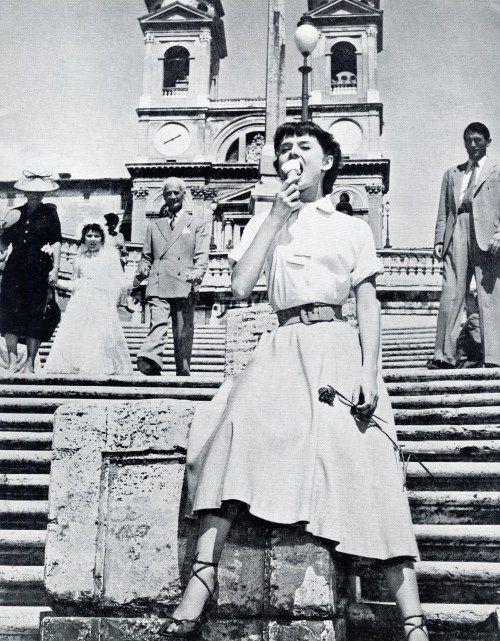 Audrey Hepburn in Roman Holiday (1953)