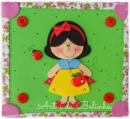 Mais uma encomenda fofa feita com todo carinho    para a professora Priscila Miranda de Cocal do Sul/SC .   Obrigada flor pelo carinho ...