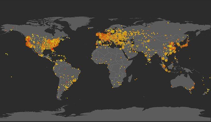 State of the Internet Global Client Reputation Visualization | Akamai