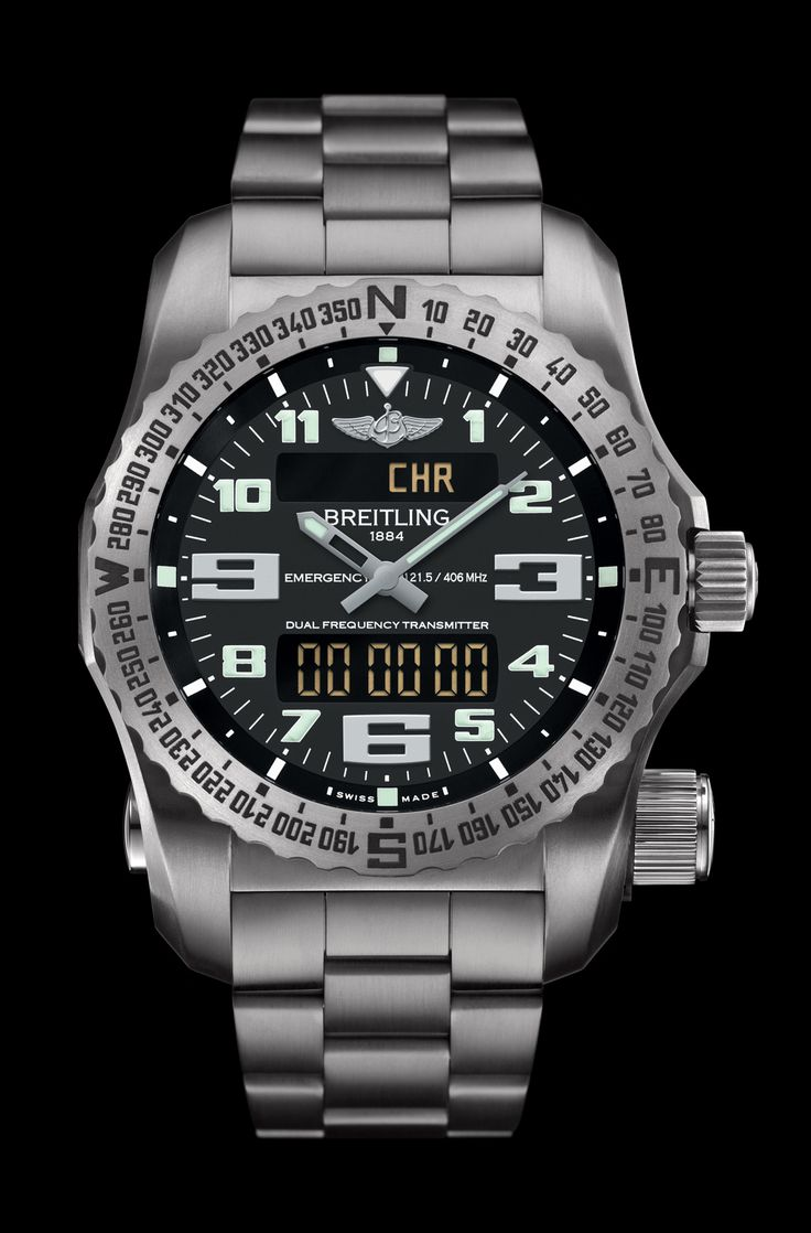 Emergency - Breitling - Instruments for Professionals