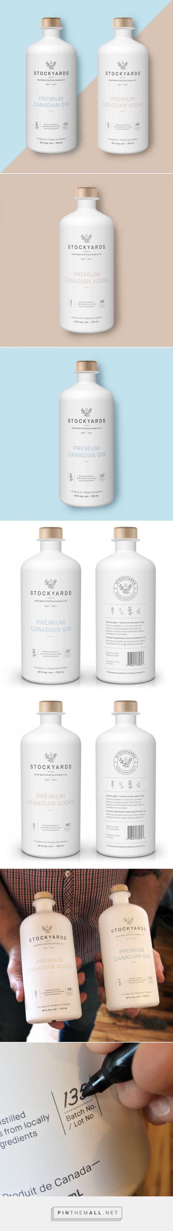 Stockyards Small Batch Distilling Co. -  Packaging of the World - Creative Package Design Gallery - http://www.packagingoftheworld.com/2017/05/stockyards-small-batch-distilling-co.html