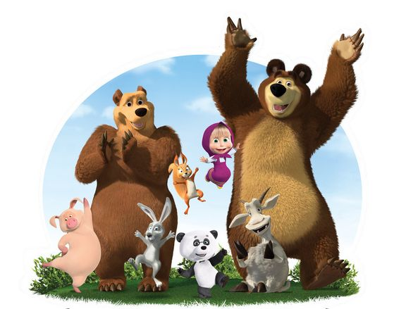190 Best Images About Masha & The Bear Printables On