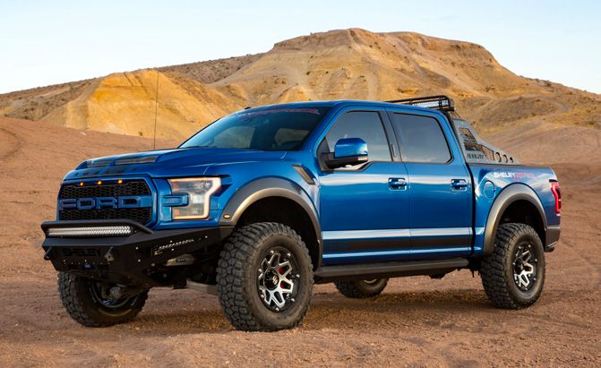 2018 Shelby Raptor Goes Big on Power and Price :  The new Shelby Raptor may only be a tuned a Ford Raptor  but it has a LOTmore power on tap.  The chicken farmers namesake has again turned its ministrations on the Ford F-150 this time adding 75 horsepower and 100 pound-feet of torque to the current-generation F-150 Raptor pickup resulting in the new 2018 Shelby Raptor.  Shelby American has reintroduced its popular Shelby Raptor beginning with a limited number of 2018 model year trucks that…
