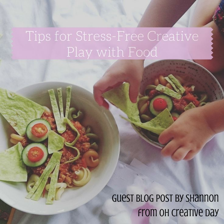 Stress-Free Creative Play with Food