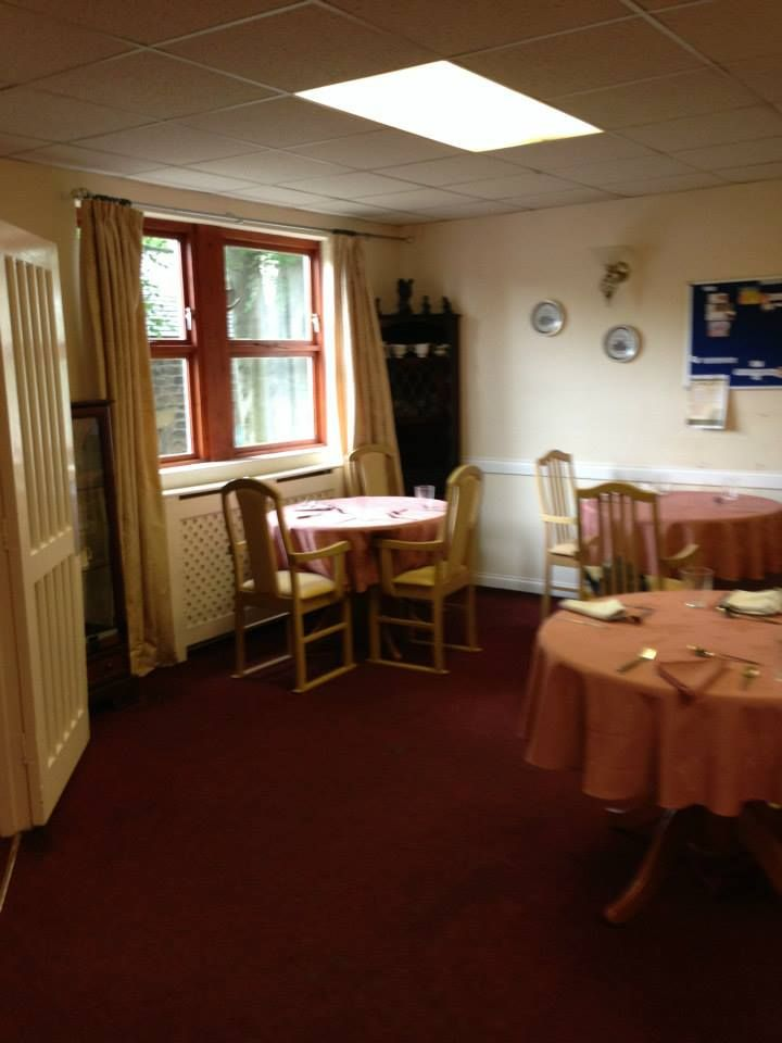 A Care Home Dining Room Before The Run Make Over