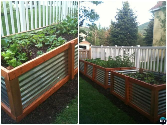 20 Diy Raised Garden Bed Ideas Instructions Free Plans