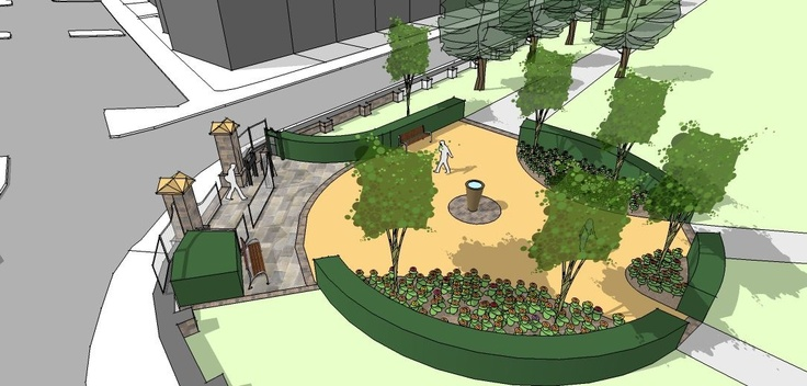 Victoria Park - entrance enhancement