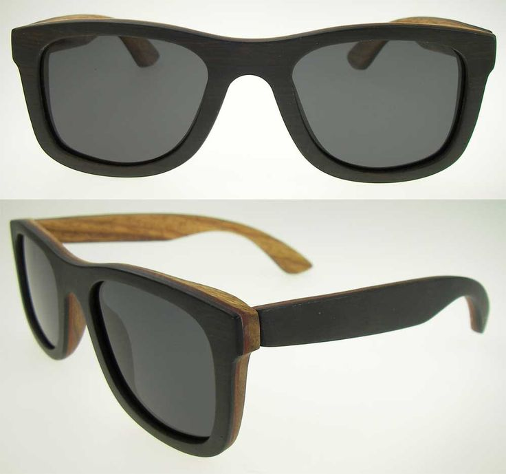 Wayfarer Double Layered Wooden Sunglasses With Carry Bag And Cloth Vintage Inspired by ixShop on Etsy