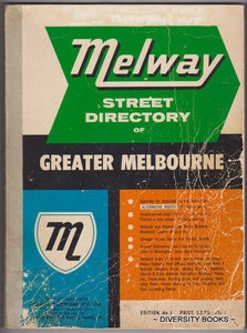 MELWAY Original First Edition, 1966.