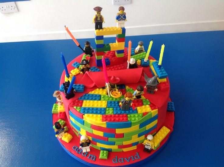 Adams 8th birthday.....He loves LEGO