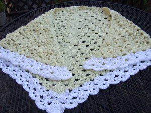 Lazy Weekend Crochet Shawl - If you have some spare time over the weekend, this is the perfect shawl to work up. There are five sizing instructions, so just about anyone can wear this masterpiece.