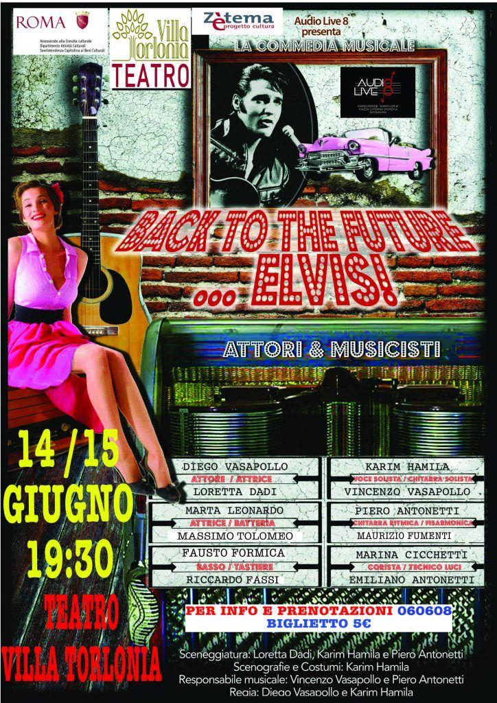 A Villa Torlonia arriva il Rock di Elvis
