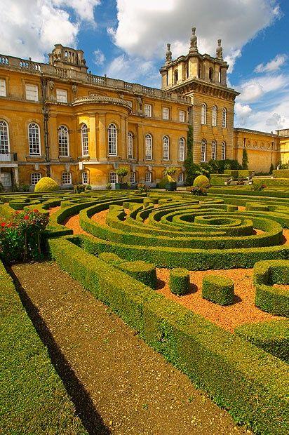 Blenheim Palace, birthplace of Sir Winston Churchill