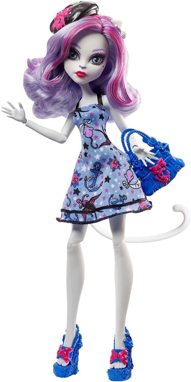 Monster High Shriek Wrecked CATRINE Doll (NEW)