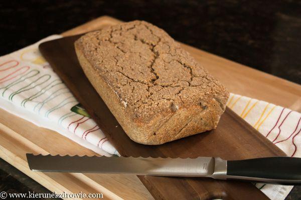 kierunek zdrowie: Najprostszy chleb bezglutenowy!