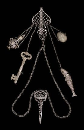 19th Century American or European Chatelaine