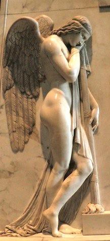 An Angel in Rome. .