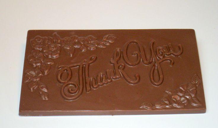 #thankyou #bar #milk #chocolate Thankyou message written chocolate bar