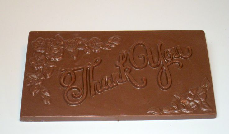 #thankyou #bar #milk #chocolate Thankyou message written chocolate bar