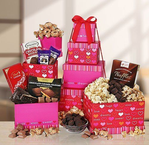 68 best Valentine\'s Day Gift Baskets images on Pinterest ...