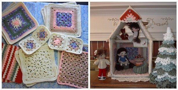 11 best images about Crochet - dollhouse on Pinterest Hooks, Tissue box cov...
