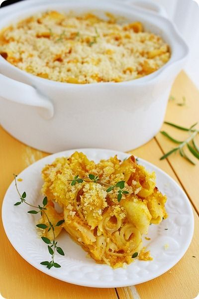 Butternut Squash Mac and Cheese...made this for dinner tonight, but ...