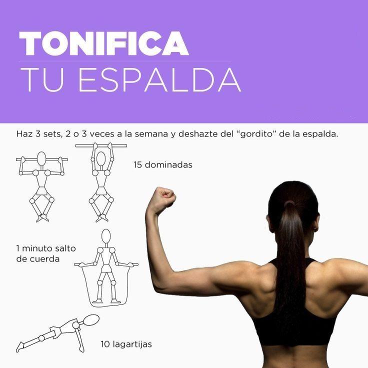 #Tonifica tu #espalda con estos #ejercicios efectivos.