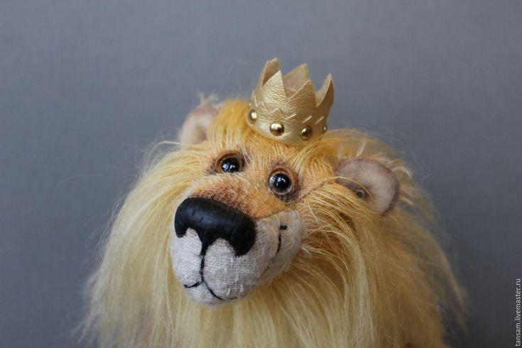 Купить Лео - рыжий, лев, львенок, друг тедди, друзья тедди, друзья мишек тедди