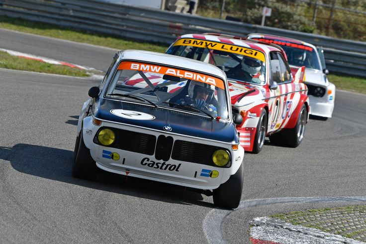 Leading the 3.0 CSL's - until the straight...