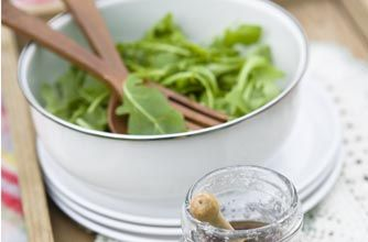 Rocket salad with balsamic dressing | Woman's Weekly recipe recipe - goodtoknow