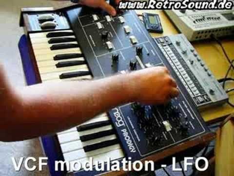 Moog Prodigy Analog Synthesizer